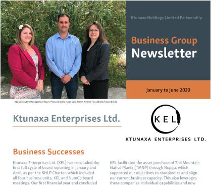 KEL Newsletter July 2020